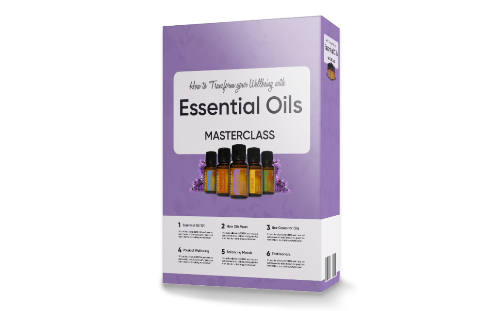 Essential Oil Masterclass online course featuring doterra therapeutic grade essential oils
