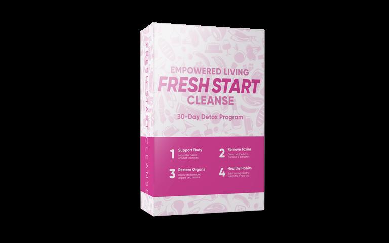 Empowered Living Fresh Start Cleanse doterra detoxification program course box